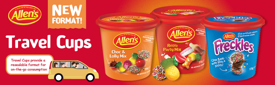 Allen's Travel Cups